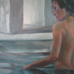 baadster - olieverf - 50x70cm - 2008 - 375,00